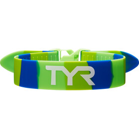 TYR Training Pull Strap, groen/blauw